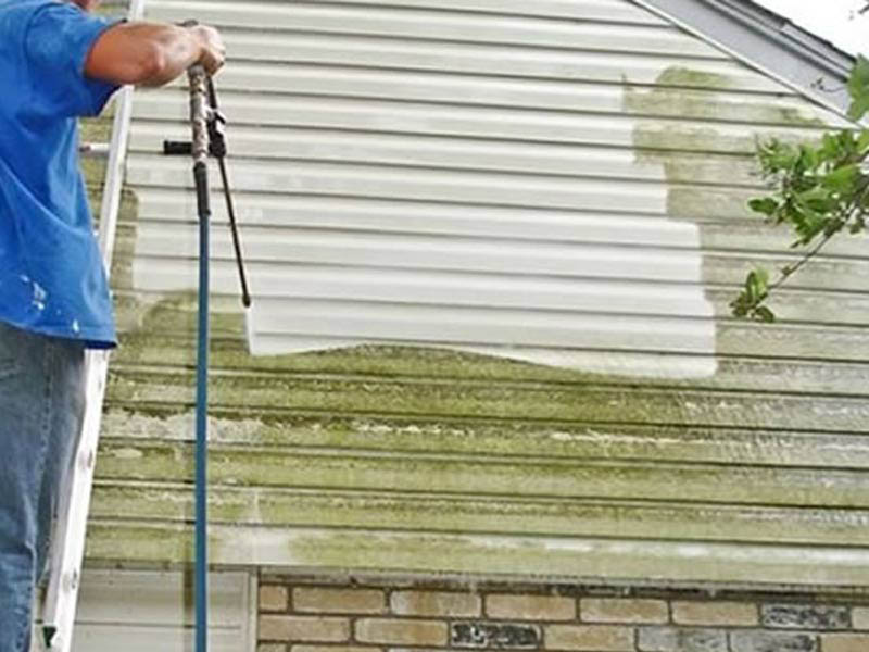 Pressure Washing In Greenville Sc Gutters Siding Decks