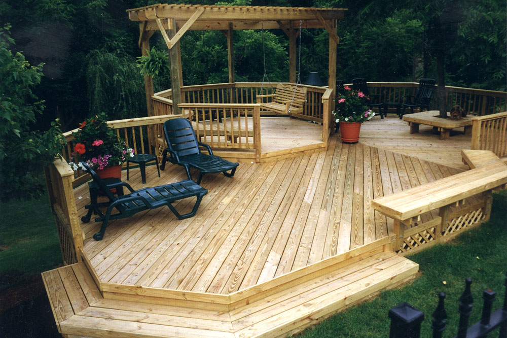 custom decks in greenville sc