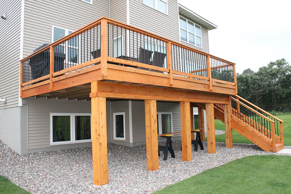 wood decks in greenville sc