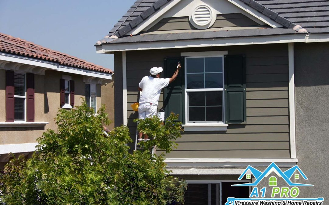 Useful painting tips for applying exterior painting during summer