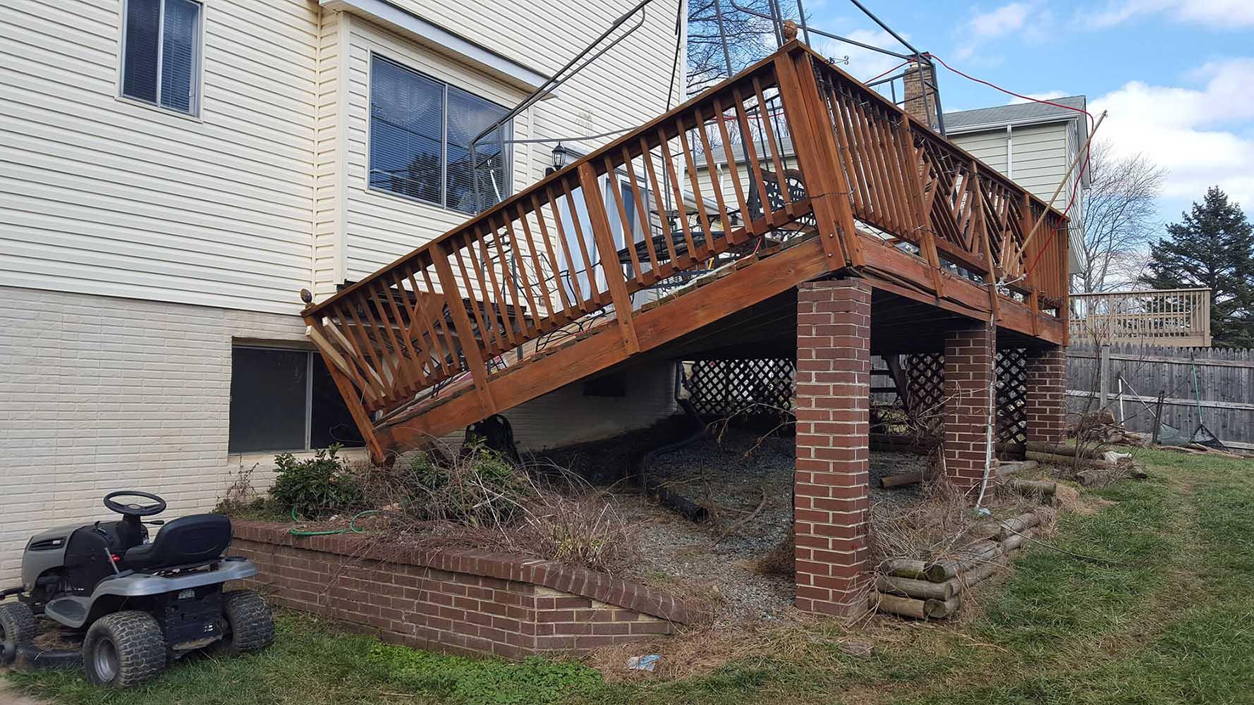 deck repairs in Fountain Inn SC